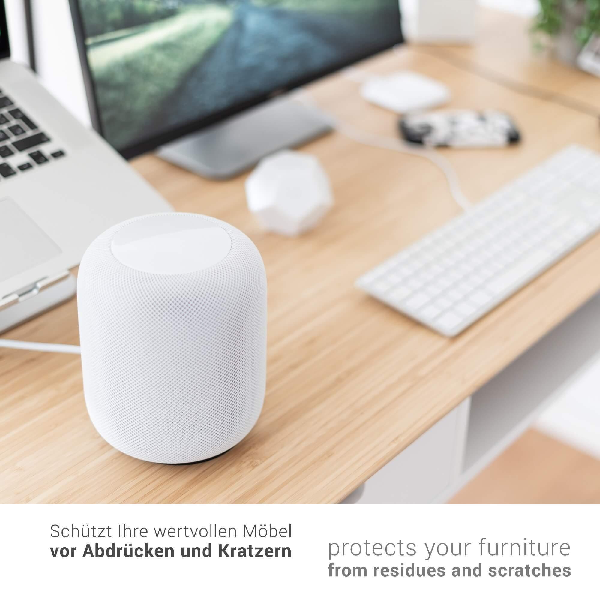 Schreibtisch design apple  honju HOME Leather Coaster | Apple HomePod, Sonos Play 1, Amazon ...